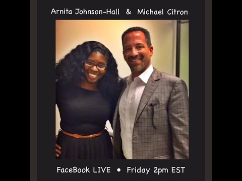 Arnita Johnson-Hall and Mike Citron