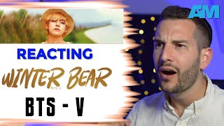 VOCAL COACH reacts to WINTER BEAR by V from BTS