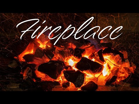 Smooth JAZZ & Fireplace - Cozy Fireplace JAZZ Music For Relaxing - Chill Out Music