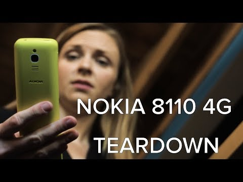 Nokia 8110 4G Banana Phone Teardown: The Matrix Edition!