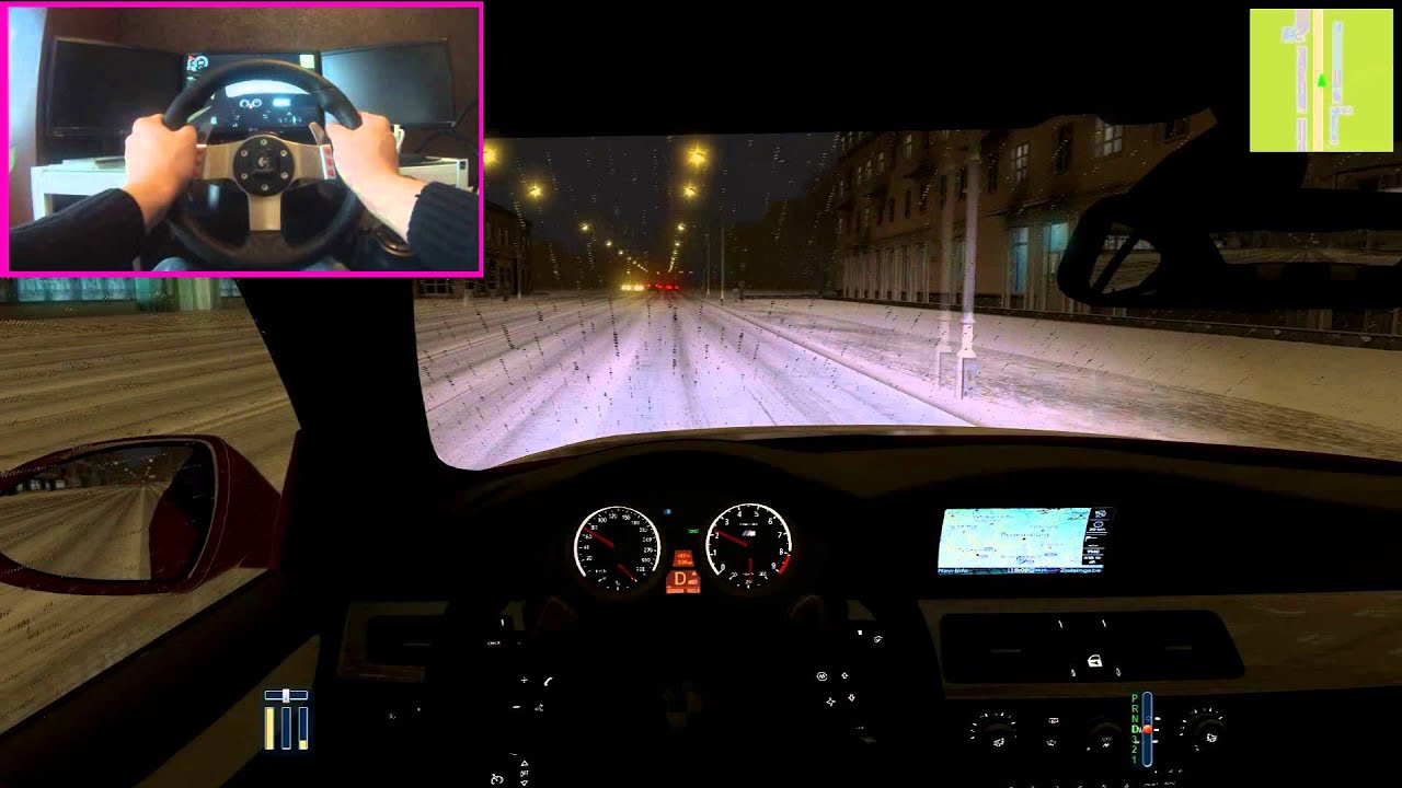 City Car Driving Winter Mod