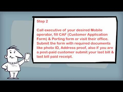 How do I port my mobile number? (India)