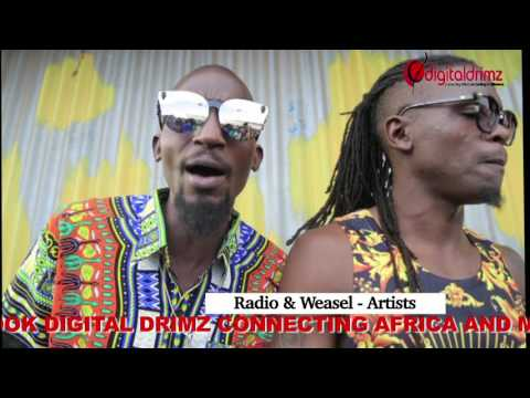 HOME 2 AFRICA REMIX  RADIO & WEASEL FT PJ POWERS BEHIND THE SCENES.