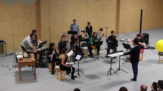 Curious Chamber Players and MANAMA Belgium perform Malin Bång's Structures of Molten Light