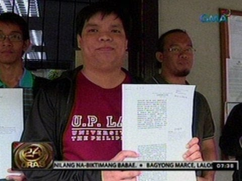 24 Oras: Bloggers, naghain ng petisyon laban sa Cybercrime Prevention Act of 2012