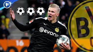 Le triplé tonitruant de Haaland pour sa première avec Dortmund fait grand bruit | Revue de presse