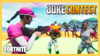Joke Competition in Fortnite!   Swiftor