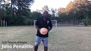 Juggle with 5 Body Parts  - Soccer at Home Weekly Challenge!