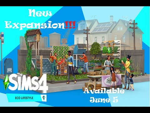 New Expansion!!|The sims 4 Eco Lifestyle. |