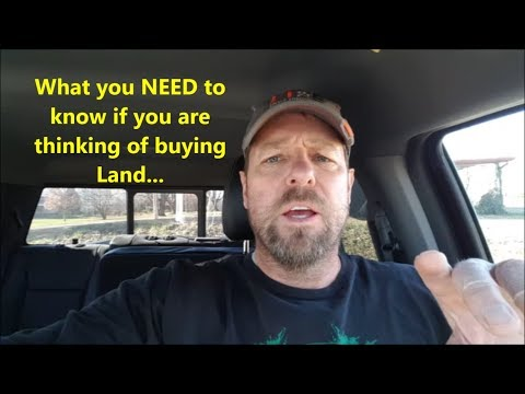 What You NEED To Know If You Are Buying LAND! TAXES!!