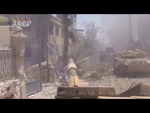 Syrian Army Operation: Jobar operation  March 2014