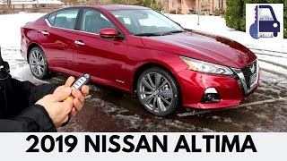 2019 Nissan Altima All Wheel Drive Platinum Edition One Brand New Redesign