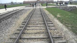 Auschwitz II - Birkenau concentration camp: railway line