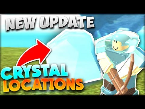 *NEW* CRYSTAL ARMOUR, RANGED WEAPONS (LOCATIONS)  Roblox: Booga Booga