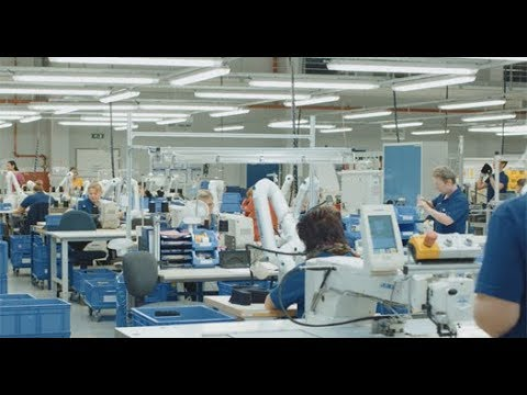Dräger Production Site for respiratory masks, chemical protective suits and  firefighters' helmets