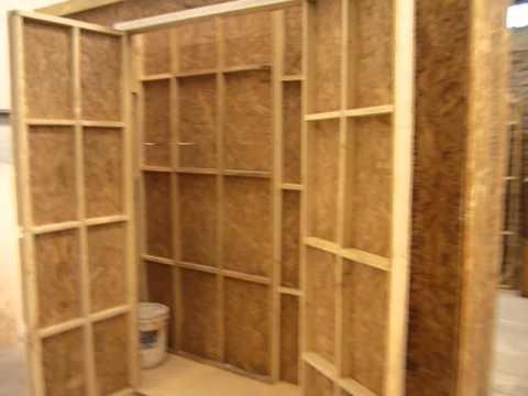 Warehouse 6024 bodega de 60 cm x 240 cm youtube for Galpon de madera para jardin