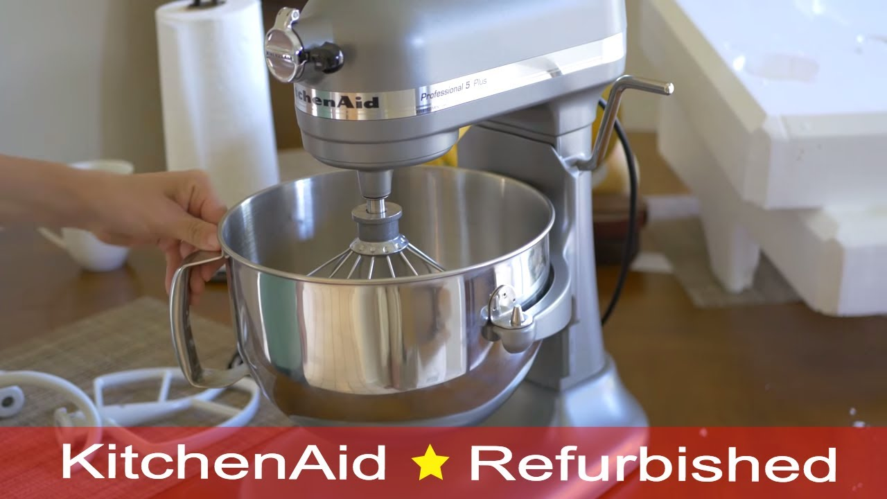 KitchenAid Professional 600 5 plus 6-Qt. - Refurbished - YouTube