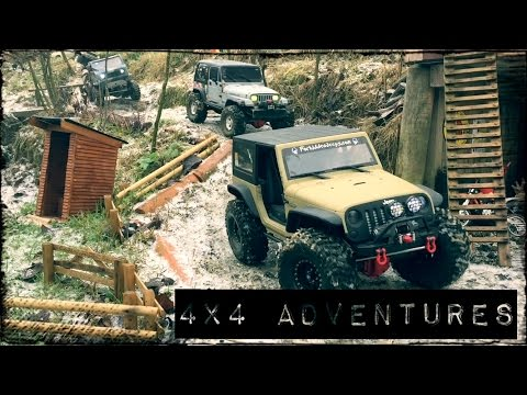 RC 4x4 off-road ADVENTURES