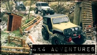 RC 4x4 off-road ADVENTURES