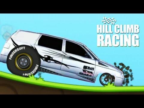 КОРЯВЫЙ МОД с Русскими тачками в Hill Climb Racing  Cars Gameplay игра про машин