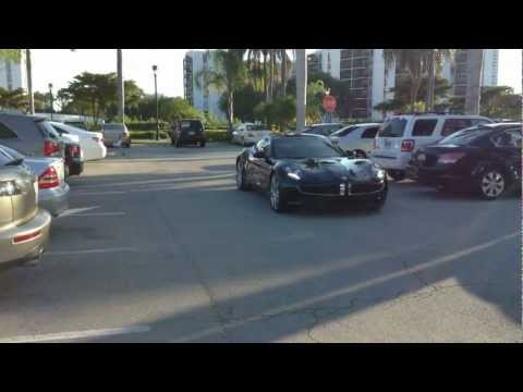 Black Fisker Karma Miami Florida