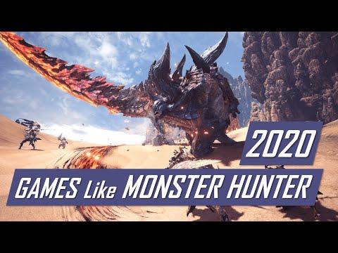 Games Like Monster Hunter World | Games In 2020 Similar To Monster Hunter