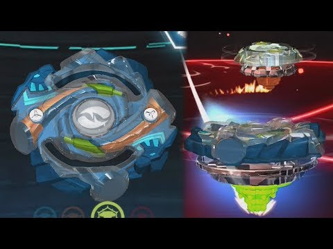 HASBRO EXCLUSIVE HYRUS GAMEPLAY | Beyblade Burst App Gameplay PART 34 ベイブレードバースト