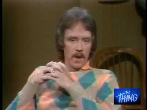 John Carpenter on David Letterman ting THE THING  June 9th, 1982.