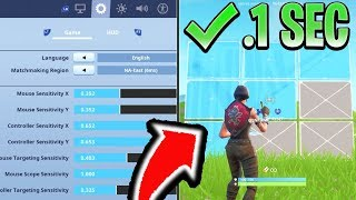 HOW To Edit FASTER in Fortnite PS4Xbox Fortnite ConsoleController Editing Tips  Settings