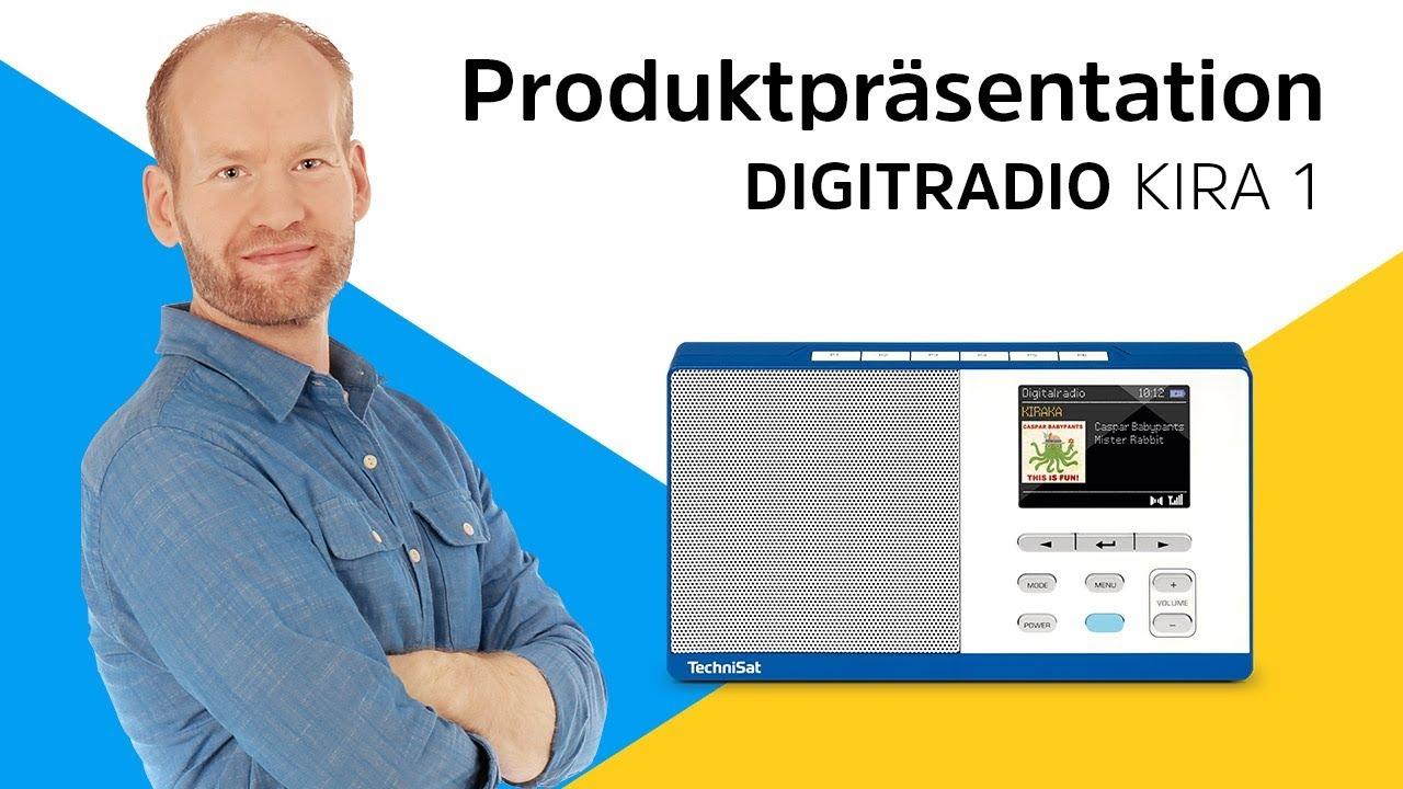 Video: DIGITRADIO KIRA 1 | Für die größten, kleinen Radiofans. | TechniSat