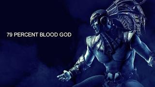 Kotal Kahn (Blood God) 79% Combo (Mkx Combos) (Slow Motion)