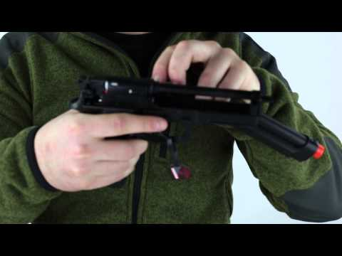 Tokyo Marui M9A1 AEP Airsoft Electric Pistol Review