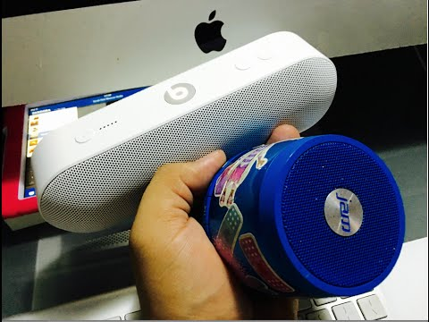beats pill + 2.0 unboxing and review and comparason  with jam plus bluetooth speaker