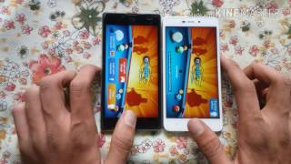 Yu yuphoria vs. Redmi 4A comparison .speed Test