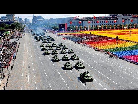China SHOW OF MILITARY POWER shows US Military who is boss now