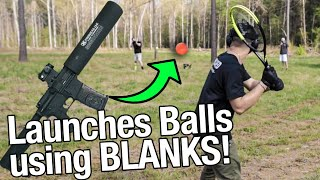 Playing Backyard Baseball with my AR-15!