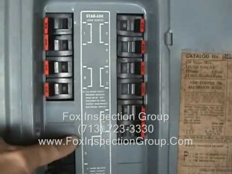 hqdefault electrical class on federal pacific service panel youtube federal pacific fuse box at soozxer.org