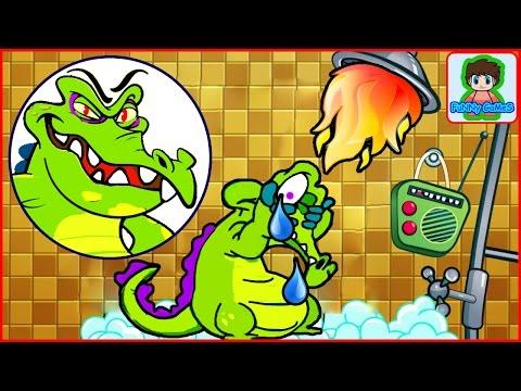 Крокодильчик Свомпи Игра - Где моя вода? | Crocodile Swampy Game - Wheres My Water?