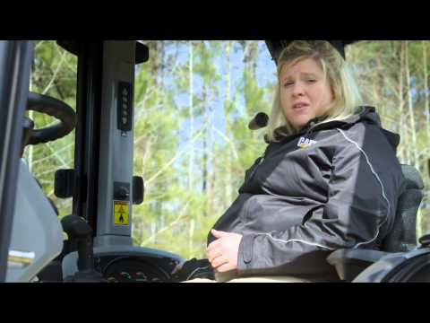 Cat® F2 Backhoe Loaders Cab Overview (North America)