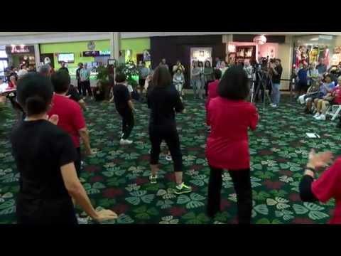 World Tai Chi 2014 Kahala Mall everydaytaichi lucy chun Honolulu, Hawaii