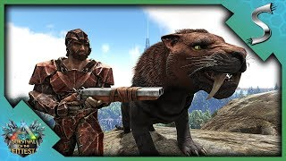 SABERS & SHOTGUNS! EASY DUO VICTORY! - Ark: Survival of the Fittest [SOTF Gameplay]