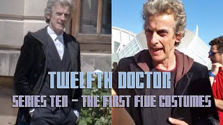 The Twelfth Doctor - Series 10: The First Five Costumes!
