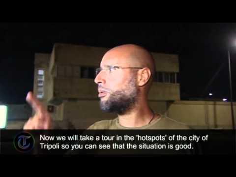 Saif al-Islam free in Tripoli