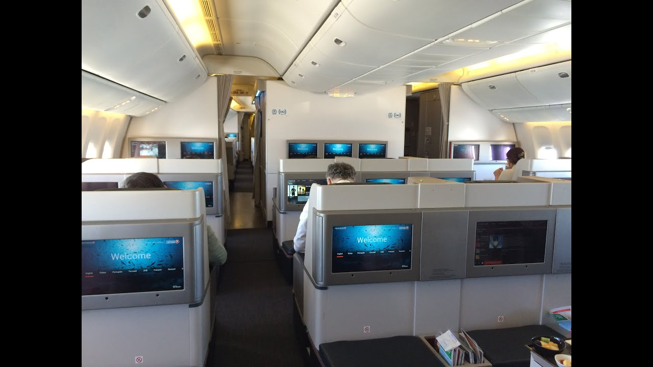 turkish airlines boeing 777 300er business class review. Black Bedroom Furniture Sets. Home Design Ideas