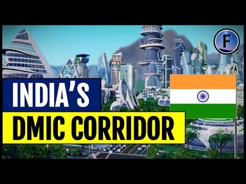 India's $90BN Delhi-Mumbai Industrial Corridor