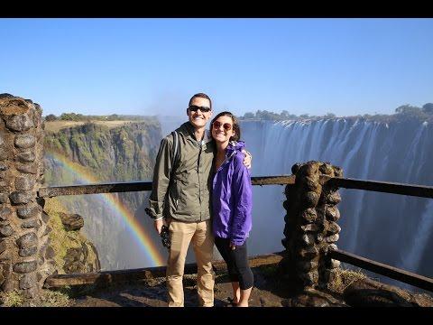 STUNNING VICTORIA FALLS // Zambia