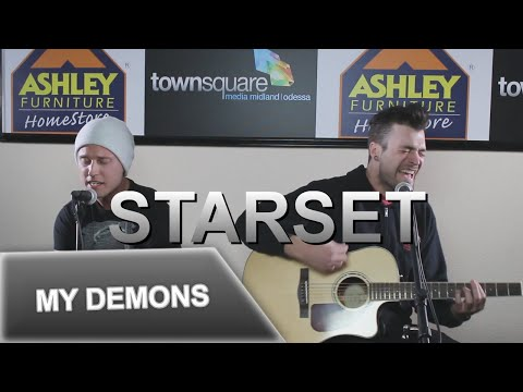 Starset Performs 'My Demons' in the Ashley Furniture Hangout Lounge