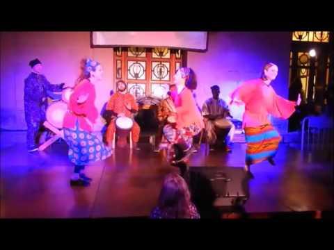 Djansa (West Africa's Malian dance) - Kalifa Kone & Michela Di Crescenzo ensemble
