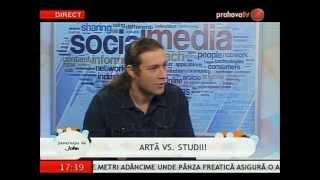 Alin Stanciu în Generaţia lui John, la Prahova Tv