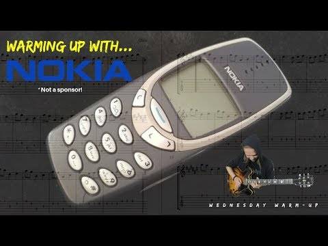 Warming up with... THE NOKIA RINGTONE